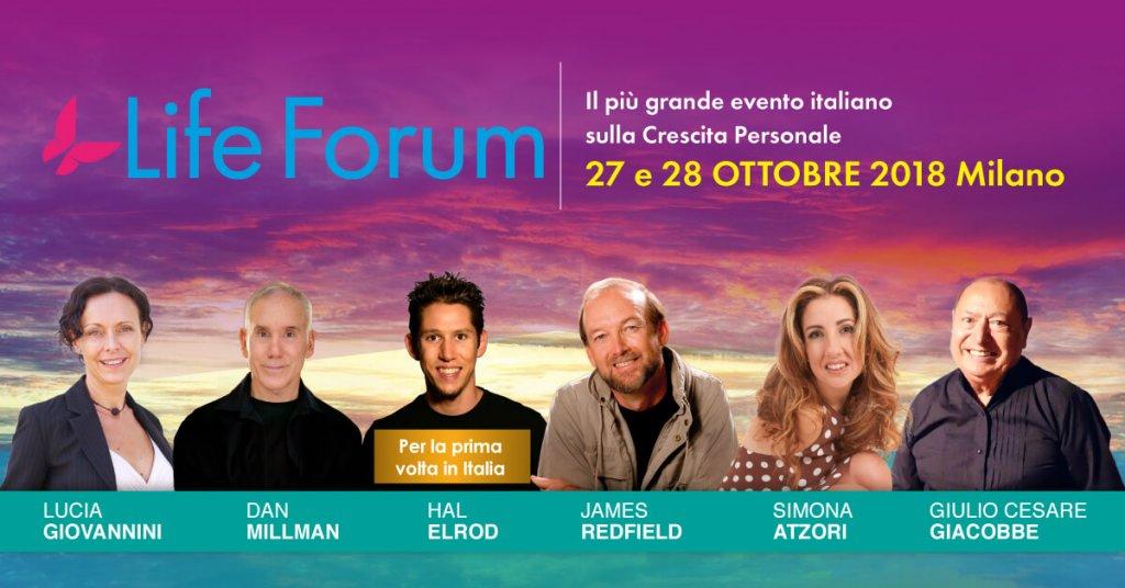 Life Forum, il più grande evento sulla Crescita Persoanle